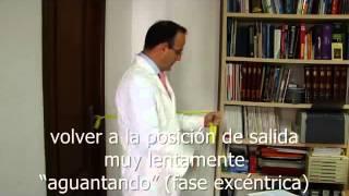 """Ejercicio de Fortalecimiento """"5"""": FLEXIÓN"""