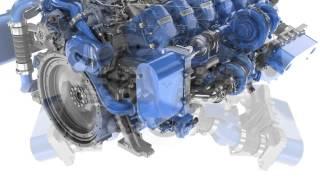 Voith 12 Zylinder Diesel Motor