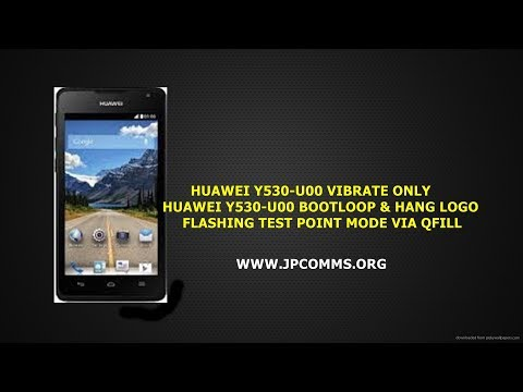 Huawei Y530 U051 How To Flash