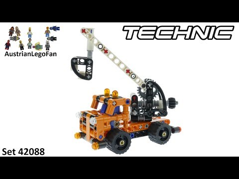 Vidéo LEGO Technic 42088 : La nacelle élévatrice