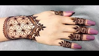 Amazing Henna Design Time Lapse | Latest Arabic Henna Tattoo