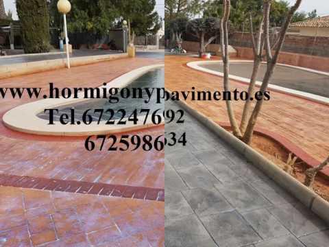 Ofertas Hormigon Impreso Junta de Traslaloma,Burgos Tel.672247692