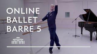 Ballet Barre 5 (Online Ballet Class) - Dutch National Ballet