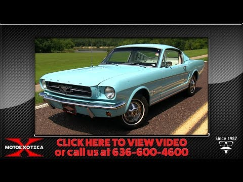 Video of '65 Mustang - OBU0