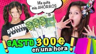 🛍️ ¡MI HERMANA ELIGE MI OUTFIT! 👗 300€ EN UNA HORA OUTFIT CHALLENGE 👠 RETO SHOPPING Contra RELOJ