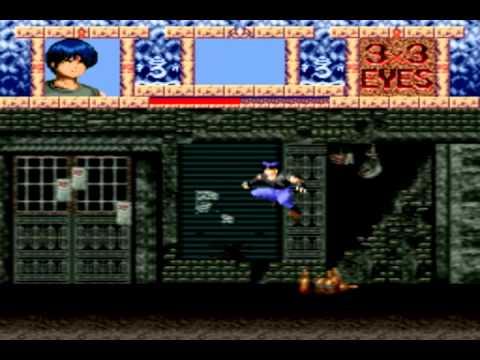 3x3 Eyes : Juuma Houkan Super Nintendo