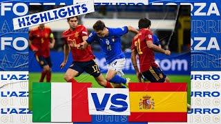 Italy 1-2 Spain Semi-Final