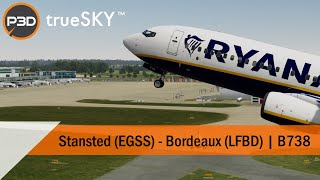 EGSS to LFBD by The Flight Simmer on Youtube