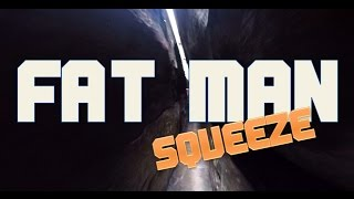 Fat Man Squeeze at Rock City, Chattanooga Tennessee