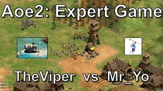 Aoe2 HD: 4v4 Death Match (Koreans, Incredible Match) - Most