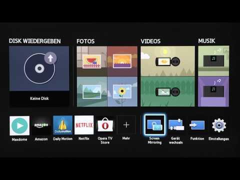 Samsung Heimkino-System: Bluetooth-Verbindung