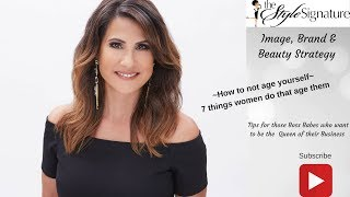 How to look younger over 40, 7  Things Women over 40  Do That Age Them
