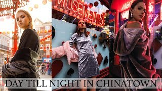 Day To Night Fashion Editorial Photoshoot In Chinatown @anitasadowska