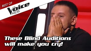 TOP 10 | MOST EMOTIONAL Blind Auditions in The Voice Kids