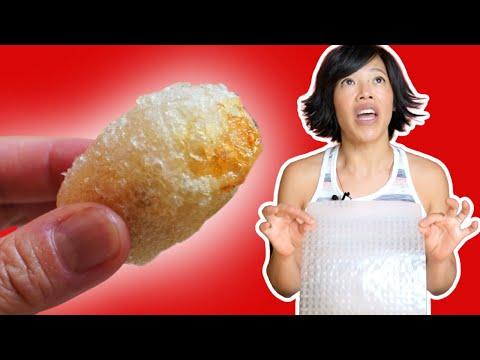 Transform Rice Paper Into Crispy Chicken Nuggets – no messy batter