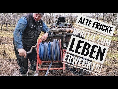 Obsthof Raddatz - Kleiner Einblick in unseren Tag! #10 Alte Fricke Spritze zum Leben erweckt!