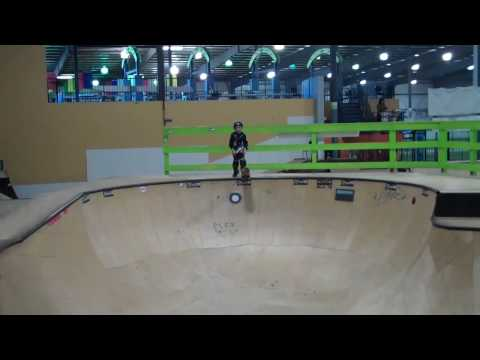 Jack Winburn 7 years old Awesome skateboarder at Progressive and Plex Skate Park