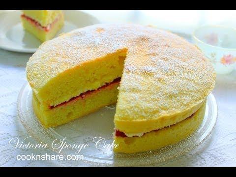 Video Victoria Sponge Cake