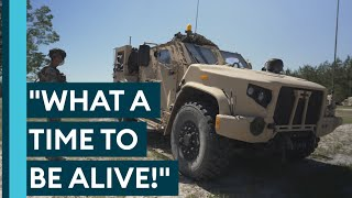 US Army Shows Us Their Amazing New JLTV! • EXERCISE RATTLESNAKE