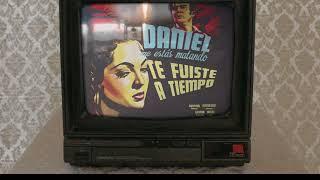 Te Fuiste A Tiempo (Lyric Video)   Daniel, Me Estás Matando