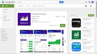 [Tutorial] Use Yahoo Finance App To Trade Stocks