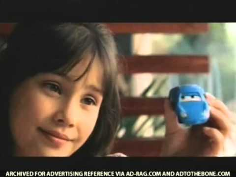 Disney Pixar Cars McDonald's Commercial (2006) USA