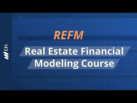 Real Estate Financial Modeling (REFM) Course - YouTube