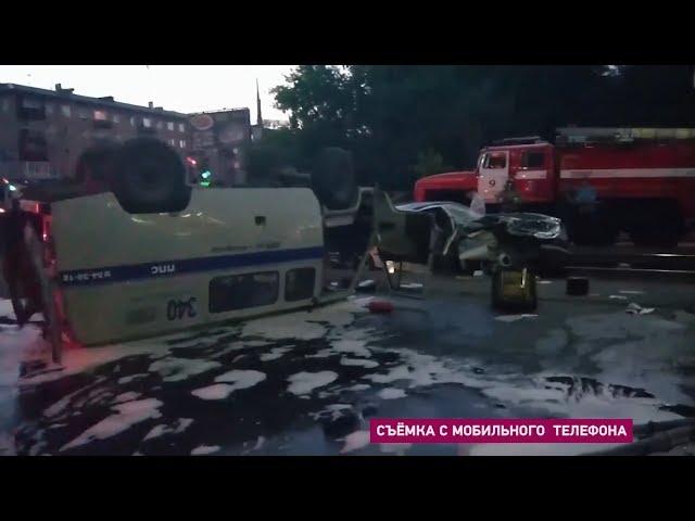 Полицейская погоня закончилась страшным ДТП