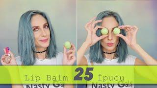 Lip Balm'ın 25 Farklı Kullanım Şekli | Sebi Bebi