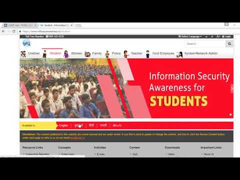 Cyber security free certificate in 1 minute - YouTube
