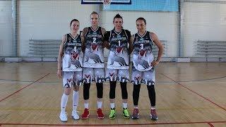 Тренировка женской Национальной сборной Казахстана по баскетболу 3х3 перед Кубком Мира 2018