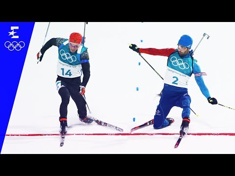 Biathlon | Men's 15km Mass Start | Pyeongchang 2018 | Eurosport