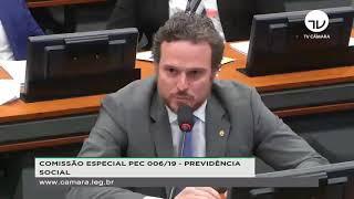 DEPUTADO FRED COSTA DEFENDE GMS COM MAESTRIA NA COMISSÃO DA PREVIDÊNCIA