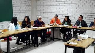 1er Encuentro de Organismos Auxiliares de cuenca: Mesas de trabajo
