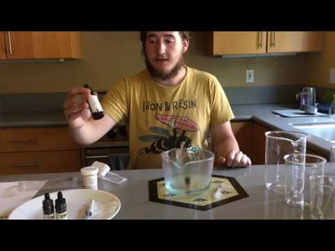 DIY THC infused Eliquid for Personal Vaporizers