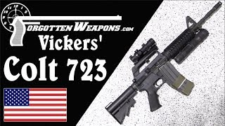 Larry Vickers' Delta Force Colt 723 Carbine