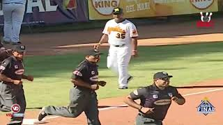 Highlights LIDOM Licey vs Aguilas 30 de Enero 5to Juego Serie Final
