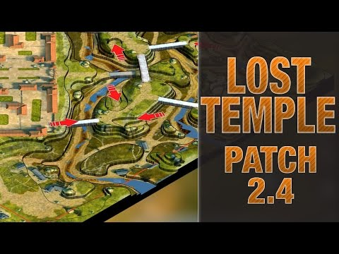 [Update 2.4] Reworked Lost Temple & Balance Changes