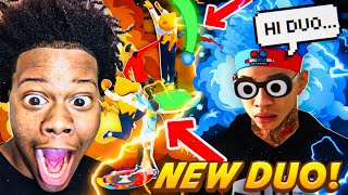 MONEYYY + TRULY CARRY NEW ULTIMATE DUO! MEET MY 2K21 DUO! BEST UNDEFEATED BUILDS ON NBA2k20!