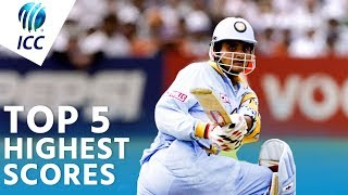 The Most Runs in World Cup History? | Top 5 Archive | ICC Cricket World Cup