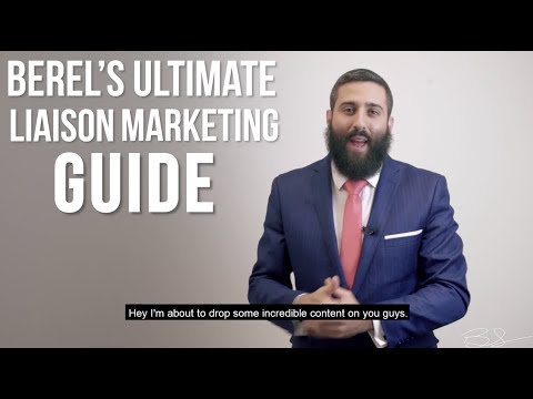 The Ultimate Liaison Marketing Guide: Chapter 1 Introduction