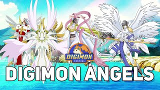 Hierarchy Of Digimon Angels (JP Terms)