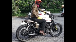 Honda CB550 Cafe Racer Suzuki GS550 CMC XY400 Bratstyle Tracker Group Ride