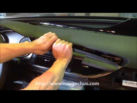 Download How To Install Audi New A6 Headunit Lcd Monitor