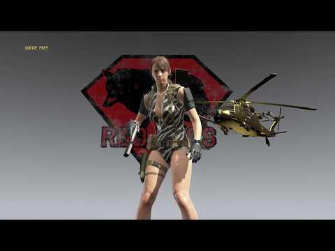 Sniper Skulls in Free roam - Infinite Heaven mod - MGSV