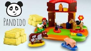 ⭕ Playmobil interaktiver Bauernhof - Spielzeug ausgepackt und angespielt - Pandido TV