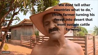 Deforestation is 40% to blame for current Climate Crisis and Brazilian Amazon is a Catastrophe Pt 3
