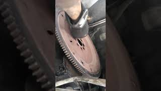 Ford flywheel removal and replacement