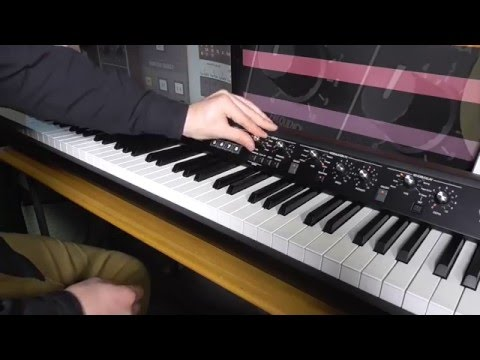 KORG SV1: Vintage Stage Digital Piano Demonstration