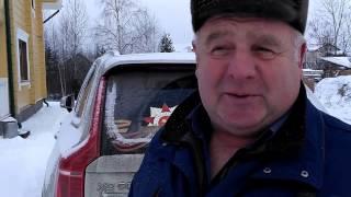 Видео-отзыв хозяина дома, построенного Приозерским лесокомбинатом